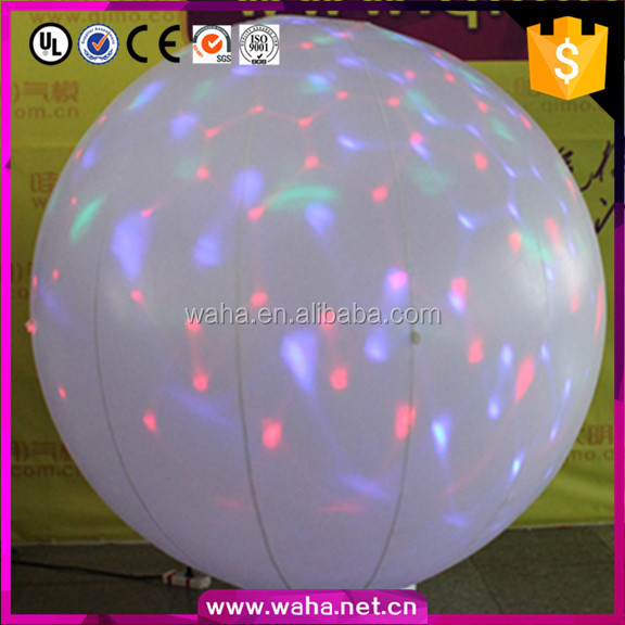 High Brightness Quality Advertising Hot Sell Inflatable Hanging Balls Inflatable Sphere