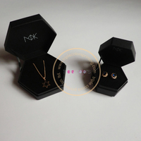 Hexagon Jewelry Gift Boxes With Foam