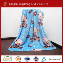 100% polyester flannel fleece baby blanket/swaddle blanket factory China/Adult blanket