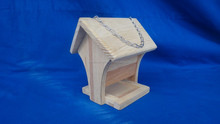 custom wooden outdoor bird house parrot house