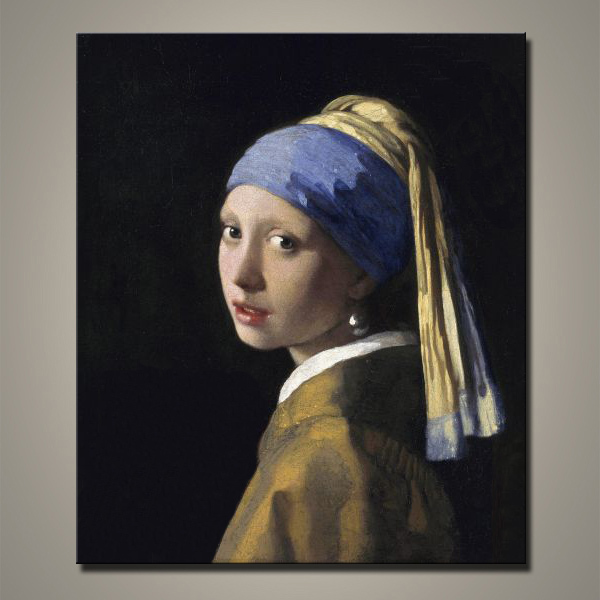 Famous Girl with a Pearl Earring Oil Painting Reproduction