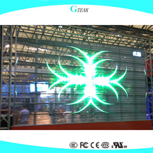 transparent clear led video display screen full color