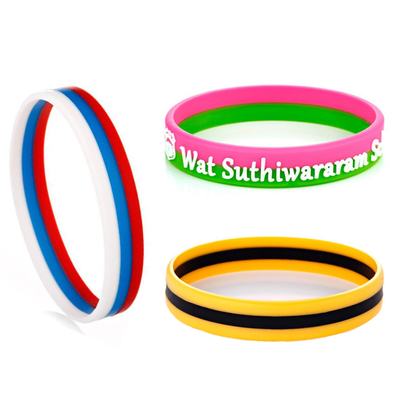 Professional silicone bracelets made in China