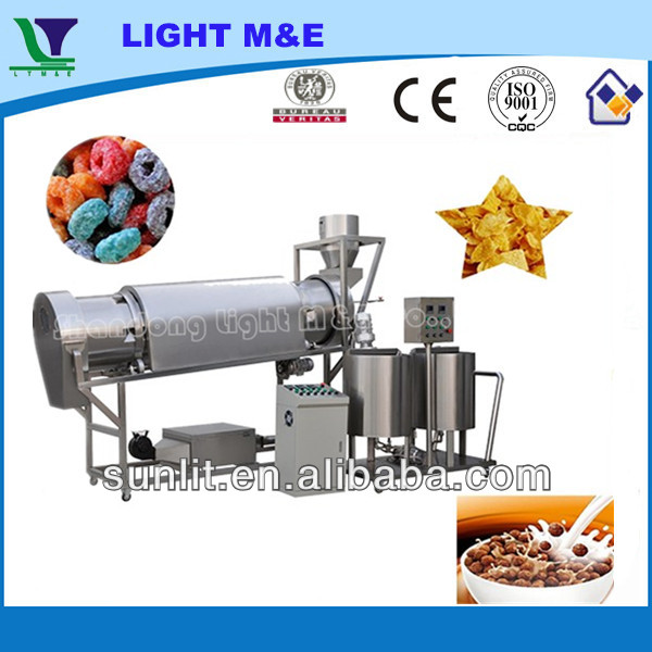 Hot selling machine Automatic Breakfast Cereal Rice Corn Puff Snacks Sugar Coating Machine