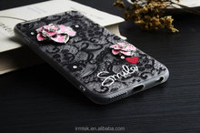 Wholesales Junoesque Diamond Lace Cell Phone Cover Case Protector For Iphone 6G 7G