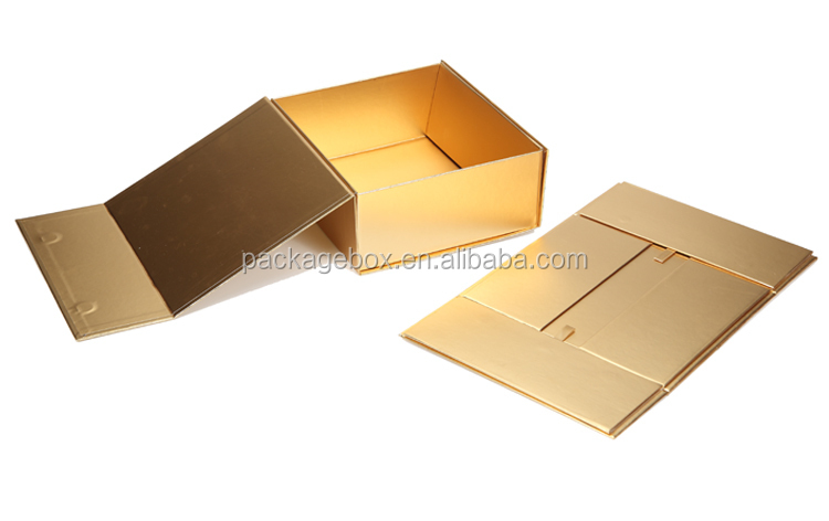 Foldable storage box design recycled cosmetic packaging for face wash packaging