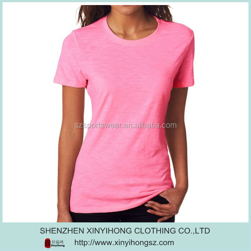Polyester/Cation blended blank dri fit t-shirts wholesale for sportswear