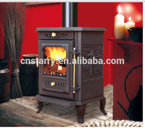 De alta calidad de hierro fundido las estufas de le a - Estufas de lena de hierro fundido ...