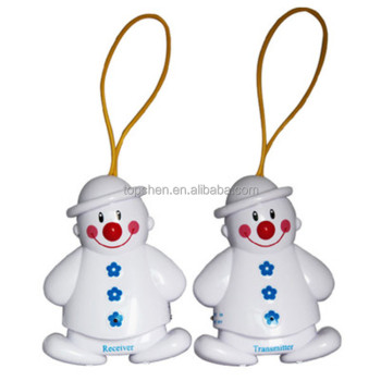 Wireless Baby Cry Detector Monitor Watcher Alarm Hot Lovely Snowman