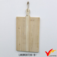 Natural Finish Wooden Handmade Cheese Cutting board