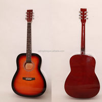 Newest most popular water transfer acoustic guitar