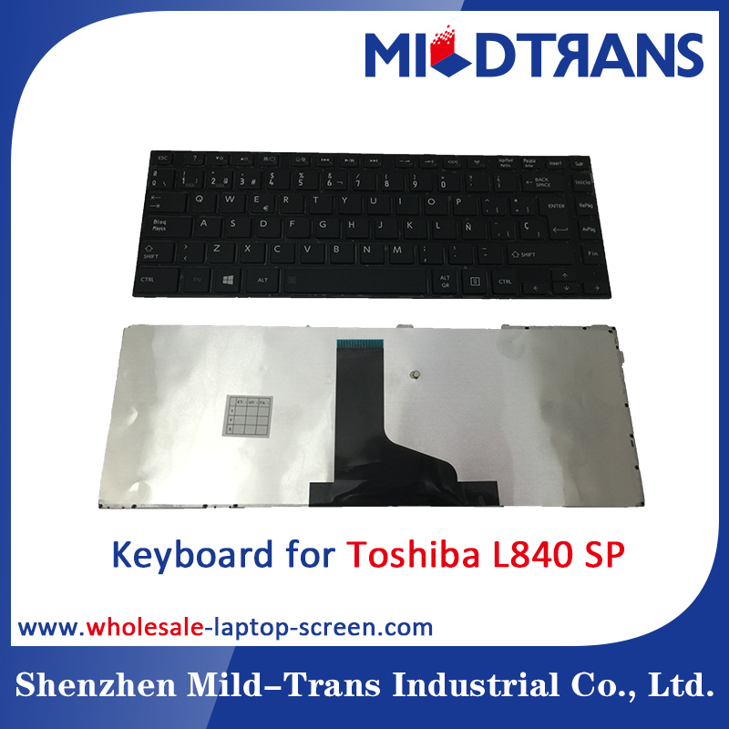 Notebook Internal Keyboard for Toshiba L840 SP language layout