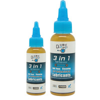 1-Step Bicycle Chain Cleaner and Lubricant 100ml Squeeze Bottle