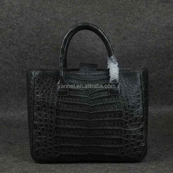 Real animal skin tote bags european style leather handbags