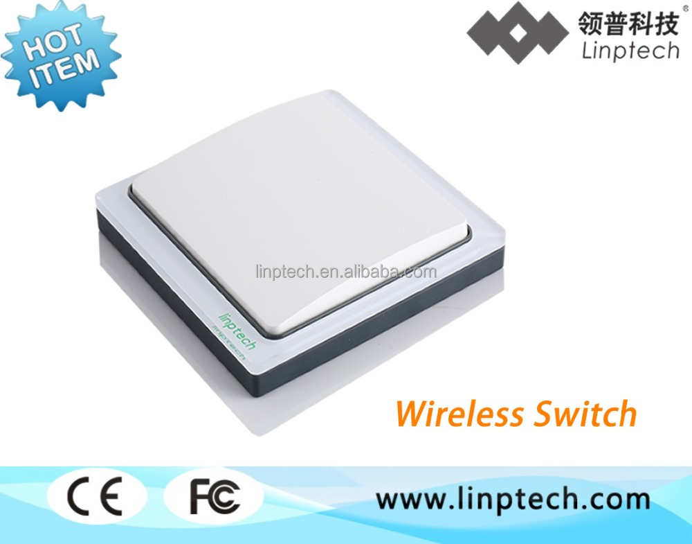 Self-powered/wireless/water-proof wall switch(Linptech K4 series)
