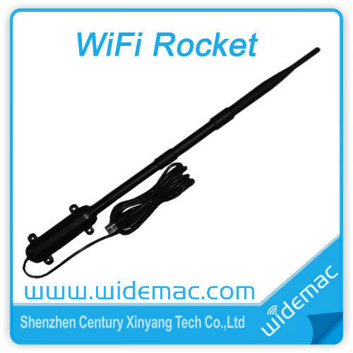 3000mW High Power RT3070 Waterproof Outdoor Wireless N USB Adapter/ Long Range Wireless Adapter