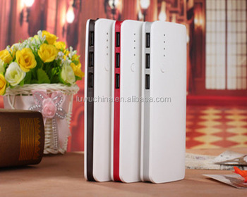 Colorful Custom Promotional Lipstick Power bank 8000mah