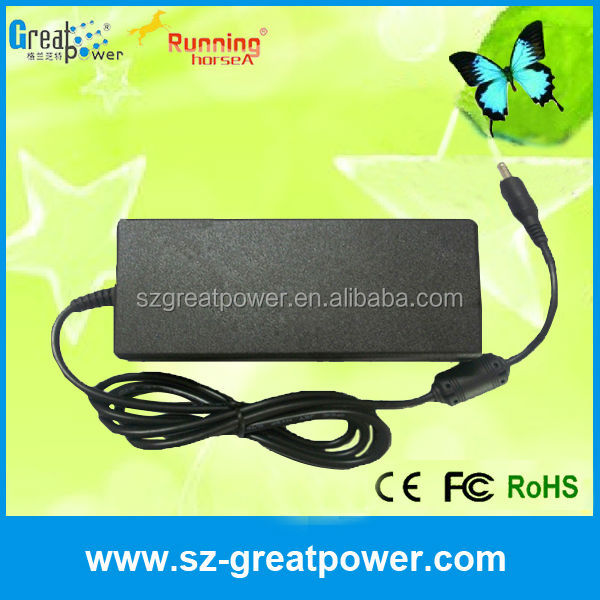 CE RoHS FCC approved ac 220v to 12v power adapter for lg laptops