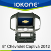 chevrolet captiva 2 din HD touch screen car radio DVD player with GPS Igo8 system