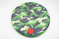 camouflage mesh fabric Ink - jet transfer printing chair round seat cushion