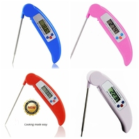 mini steak thermometer with foldable probe,mini steak beef chicken cooking thermometer,mini steak thermometer