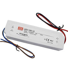 MeanWell Mean Well LPV-100-12 IP67 12V Power Supply Waterproof Electronic LED Driver 100W