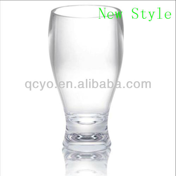 acrylic frosted plastic glass cup