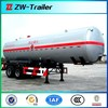 Truck Trailer Use and 13000*2500*3999(mm) Size lng tanker truck