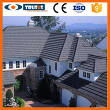 Professional Colorful Nice Appearance Stone Coated Steel Roofing Tiles