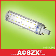 AOSZX High Lumen 8W E27 PLC G24 PL LED