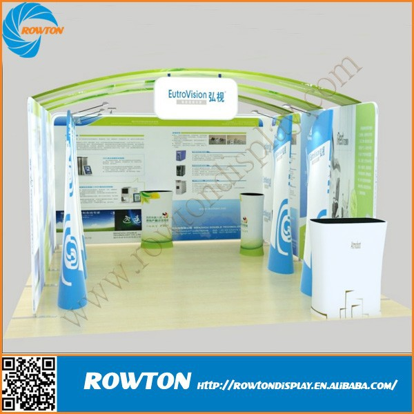 2015 hot sale tension fabric frame exhibits booth trade show booth