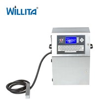 Small Characters Continuous Ink System External Endless Ink Jet Printer