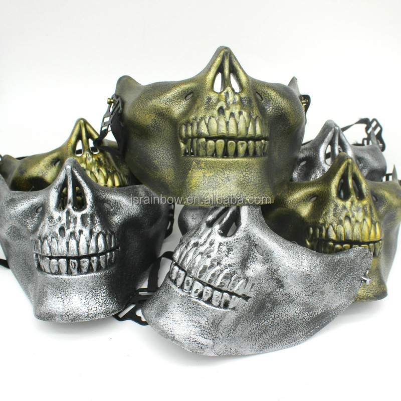 Wholesale MediEvil plastic halloween ghost party mask