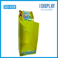 wholesale Paper Material Foldable Slipper Floor Display for Shop Display