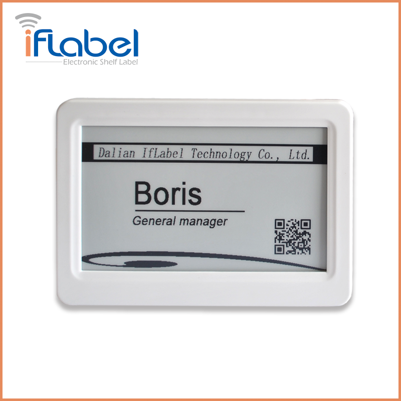 L010 IfLabel 7.5 inch Black&White color Single-side with White Frame electronic label