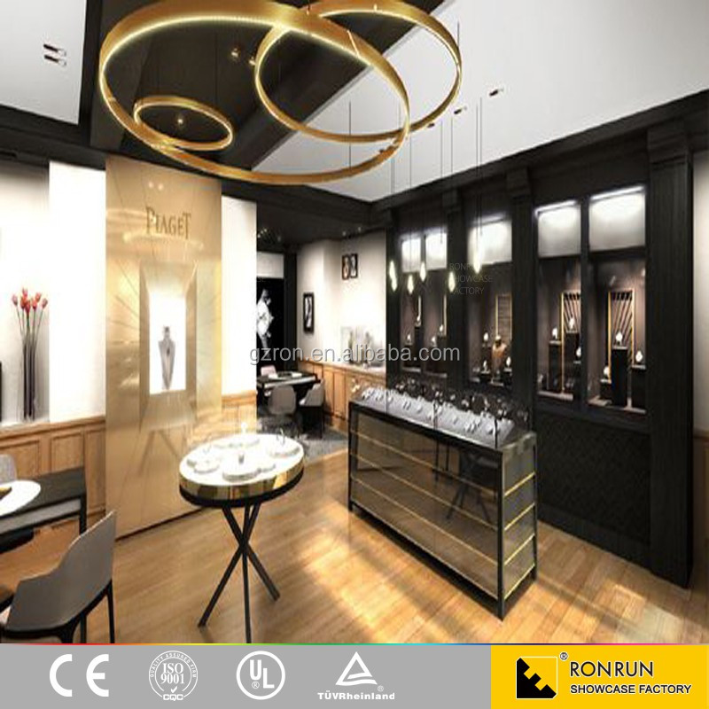 2017 Elegant Jewelry Shop Interior Design Jewellery Counter Images