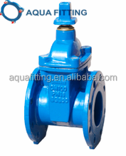 Non-rising Stem ductile iron Resilient Seated Gate Valve DIN3352 F4 F5