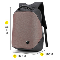 2018 best Customs Password Kits Lock Bobby Backpacks Waterproof Oxford Anti Theft Backpack With Usb Charging Port