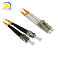 HYG fiber patch cord making machines ST LC Multimode Duplex Fiber Optic Patch Cord fttx fiber optic cable