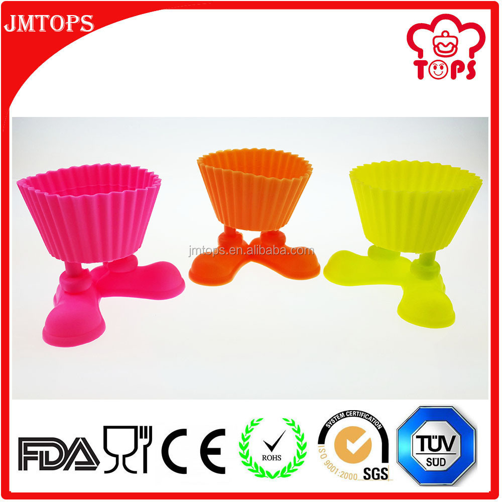 Cake Tool Type Unique Funny Silicone Cupcake Mold / Silly Feet Silicone Cupcake Mold/ Muffin Silicone Cupcake Mold with Feet