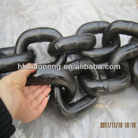China Manufacturer G80 galvanized Lifting Link Chains industrial G80 chain