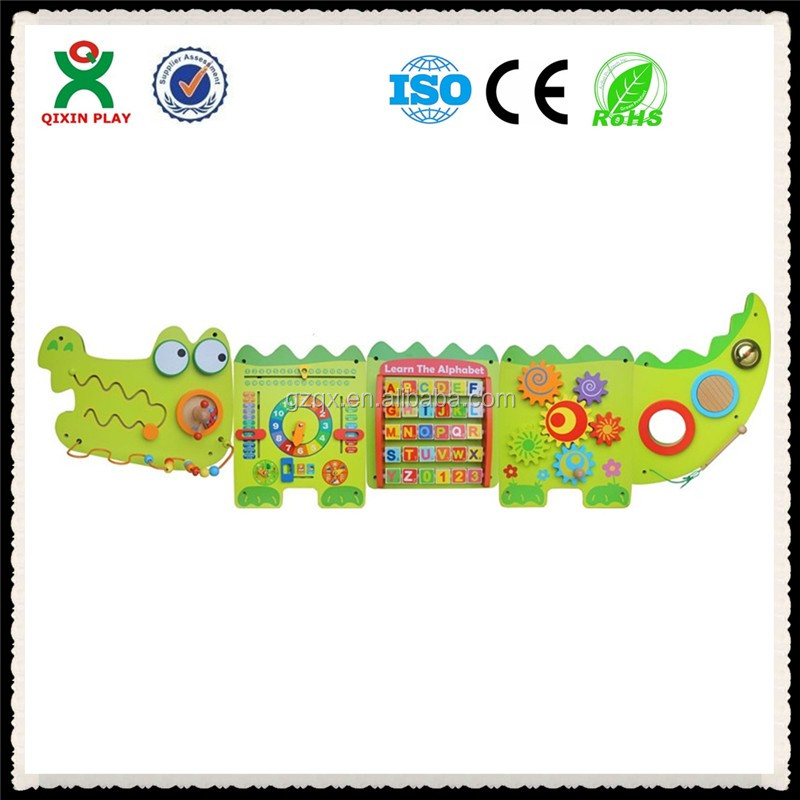 crocodile wall toys/Metope Indoor Kindergarten Toys/puzzle games