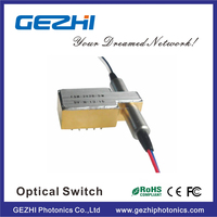 Good performance Fast ethernet 2x2 Bypass fiber optic switching in optical communication system