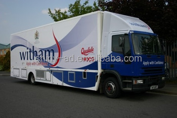 Giant Full body trailer wrap sticker