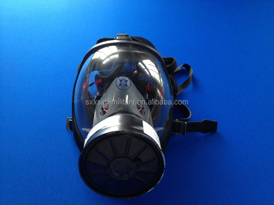Hot protective respirator military full face safety gas mask with factory price