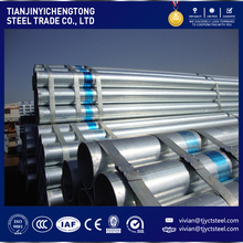 hot sale price sch 60 galvanized GI steel pipe list in low price