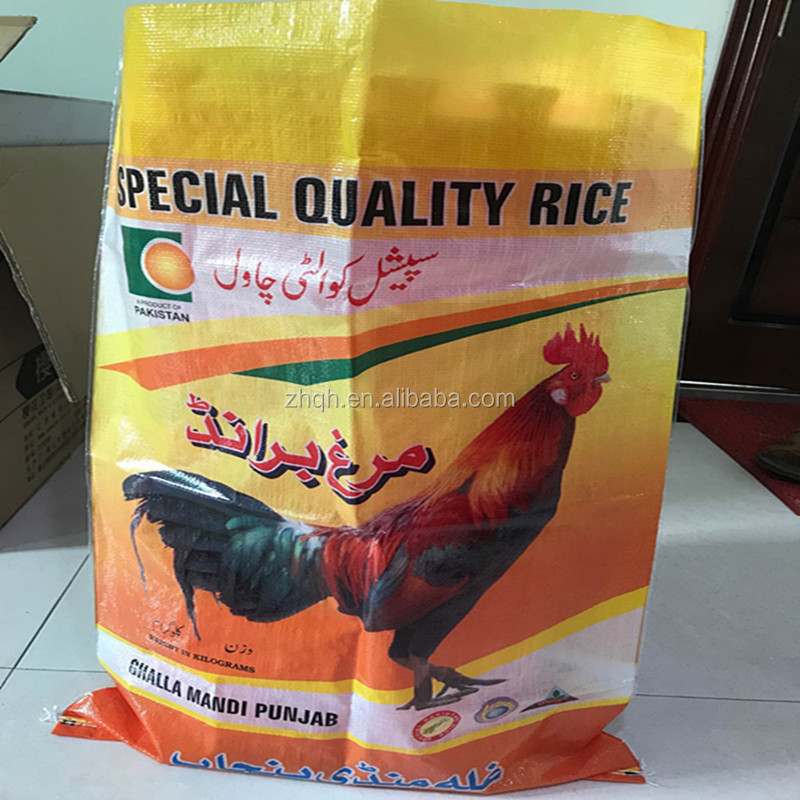 horse feed bag pp woven bag with gusset printing plastic woven poultry feed chicken feed pp sacks for sale 20kg rice sacks