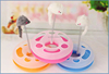 New design Kitten toy activity center cat toy With Spinning Mouse