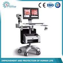 trolly type digital video coloscope electronic colposcope with software