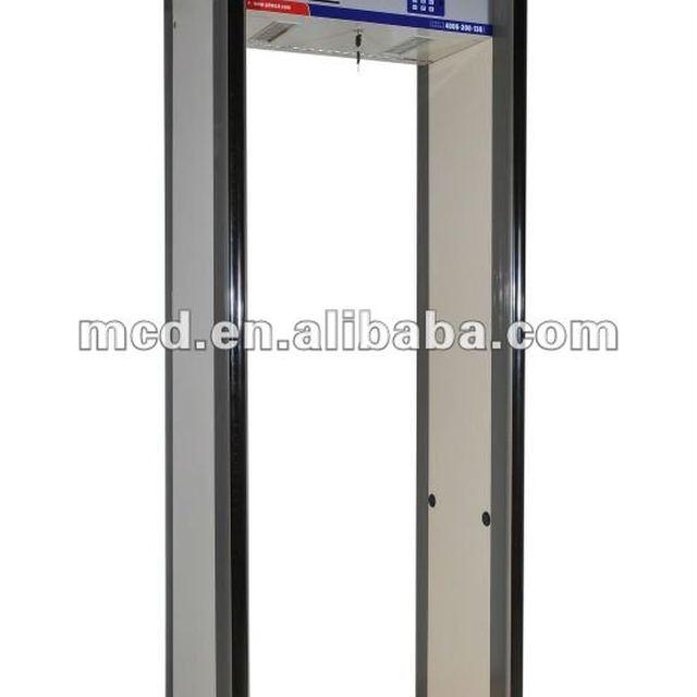 New Face Muti-zones Walkthrough Metal Detector MCD-500C